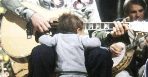 John Denver With His Son, Zachary.