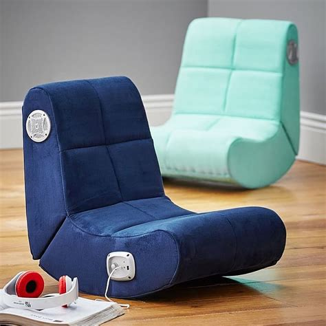 suede mini rocker speaker chair the best gifts for