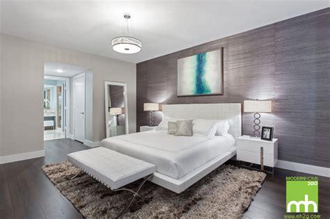 biscayne condo modern bedroom miami  mhg