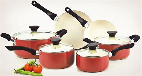 ceramic  stainless steel cookware  basic