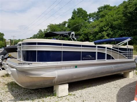 Used Bennington Pontoon Boats In Wisconsin by Used Pontoon Boats For Sale In Wisconsin Page 2 Of 3