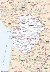 Poitiers Carte De France : carte routiere charente ~ Dailycaller-alerts.com Idées de Décoration