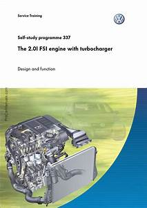 Vag Ssp 337  U2013 The 2 0l Fsi Engine With Turbocharger