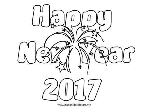 happy  year  da colorare disegni da colorare