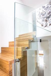 Treppengeländer Mit Glas : treppe in pforzheim holzmanufaktur ballert ~ Markanthonyermac.com Haus und Dekorationen