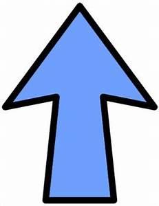 Going Up Arrow Clipart