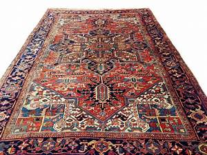 incroyable tapis persan heriz 340x235 cm catawiki With tapis persan avec canapé valenciennes