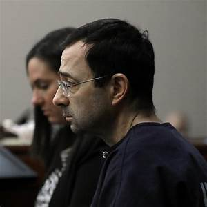 Larry Nassar Charged at by Father of 3 Victims in ...