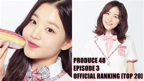 produce  official ranking episode  top  youtube