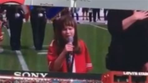 audrey rose national anthem  ers cowboys game