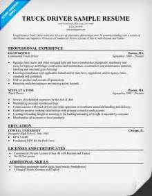 resume for applying driver position driver resumes sle driver resumes format driver