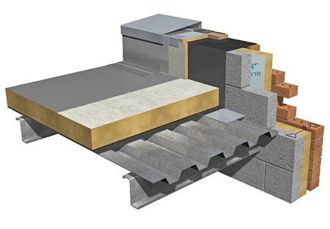 Flat roof: metal deck   Quinn Building Products