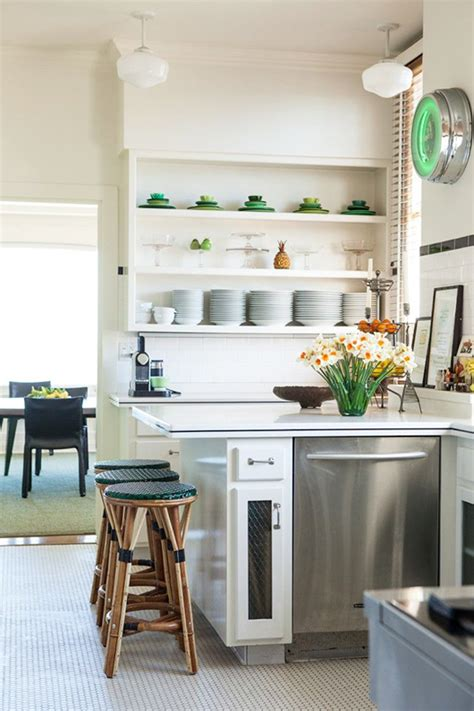 open kitchen shelf ideas 12 kitchen shelving ideas the decorating dozen sfgirlbybay