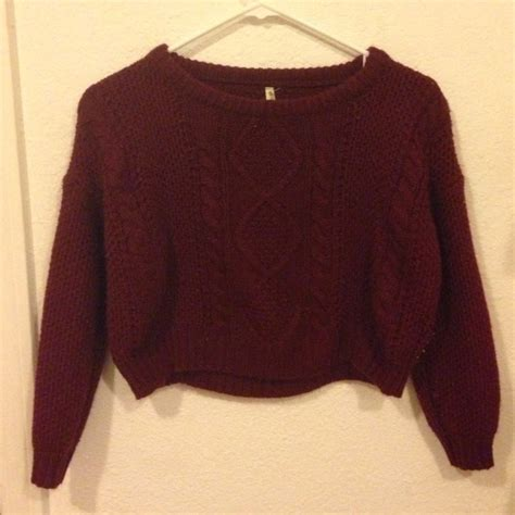 burgundy sweater womens 60 melville sweaters cropped burgundy