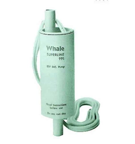 Whale 12 Volt Pump In Line