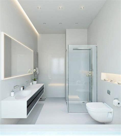 Modern Minimalist Bathroom Lighting by Bathroom Lighting Ideas Led Lighting Contemporary White