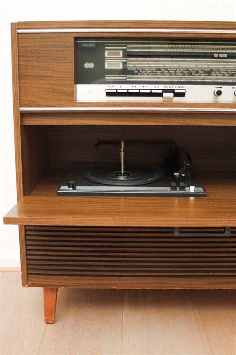 zelfbouw audio meubel vintage radiogram sideboard grundig froufrou s