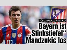 Mario Mandzukic Heading to Atletico Madrid from Bayern