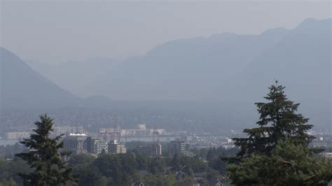 Uv index 7 or high. Air quality advisory issued, strenuous outdoor activity discouraged, Metro Vancouver says   CTV News