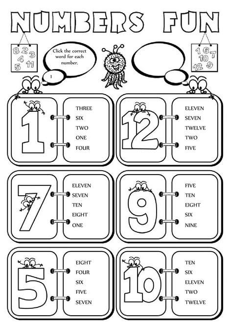 numbers interactive  downloadable worksheet