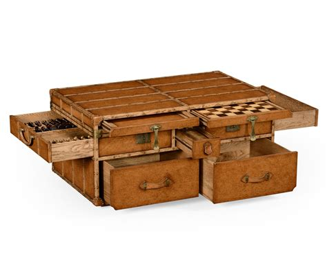 Rustic Trunk Coffee Table for Your Living Room