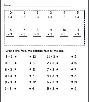 Addition Fact Practice 09, Doubles, Doubles +1 By Savvy Second Graders