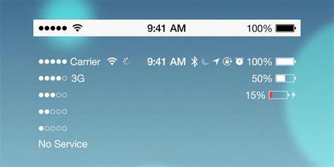 iphone status bar что означают значки в верхней части экрана iphone в status Iphon