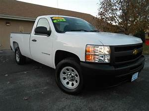 2010 Chevrolet Silverado 1500 Work Truck 4x4 2dr Regular
