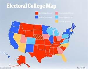 Hillary Clinton 'drops below electoral vote threshold ...