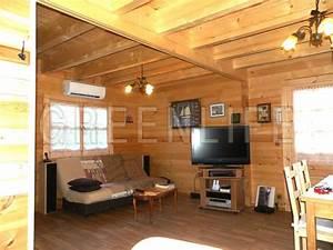 beautiful chalet en bois interieur photos lalawgroupus With maison en bois interieur