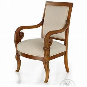 Fauteuil De Style : fauteuil ancien de style saulaie ~ Teatrodelosmanantiales.com Idées de Décoration