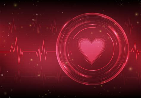 Heart Monitor Free Vector Background - Download Free