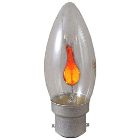 3 watt bc b22mm flicker candle light bulb