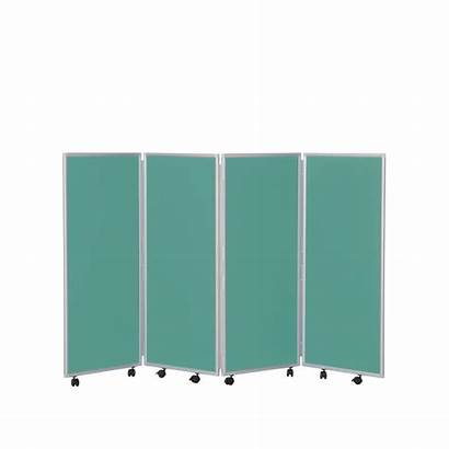 Mobile Folding Divider Fabric Woolmix 1200mm Dividers