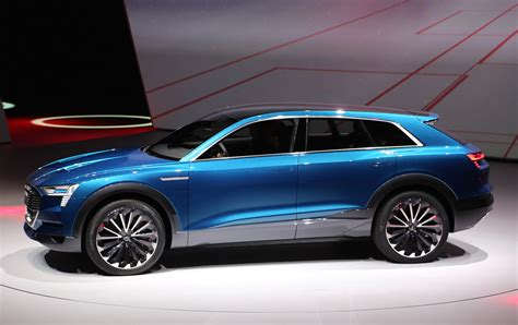 Upcoming Electric Suv by Audi E Quattro Concept Previews Electric Suv Coming