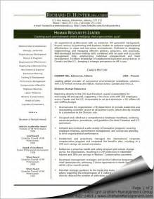best sle of hr resume executive resume best template collection