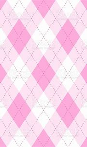 Pink Argyle Seamless Pattern Backgrounddiamond Shapes With ...
