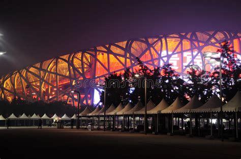 L'impianto èstato disegnato dagli architetti svizzeri herzog & de meuron. Stadio Olimpico Di Pechino Cina Immagine Editoriale ...