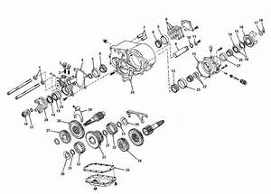 Jeep Dana 20 Transfer Case Parts