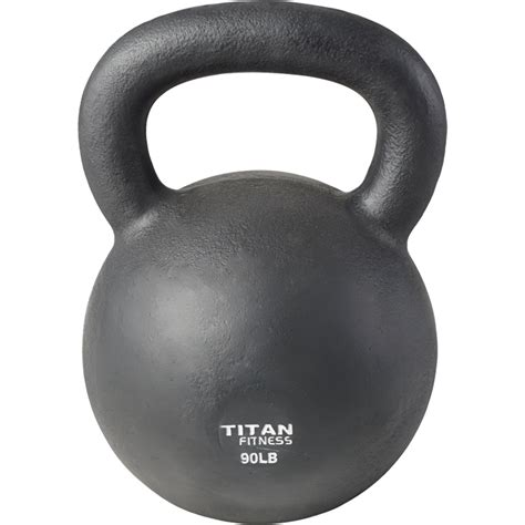 kettlebell weight workout iron swing cast 5lb fitness 100lb lb titan solid natural boxing
