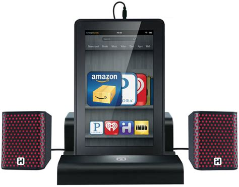 I Home Smart Design : Ihome Portable Speakers For Kindle Fire