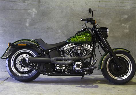 Harley Davidson Softail Slim Modification by Harley Davidson Softail Slim Review Motorbike Writer