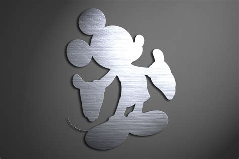 Mickey Mouse Bathroom Wall Decor by Mickey Mouse Metal Wall Disney Mickey By Inspiremetals