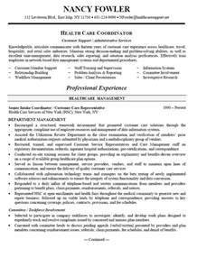 health care and customer service objective for resume 381 best images about free sle resume tempalates image on customer service resume