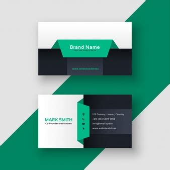 Creative White Business Cards Images Card Design And