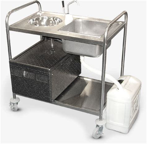 mobile hand wash sink unit mobile sink units commercial sinks ltd