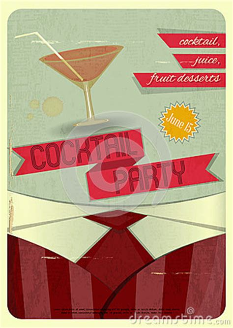 vintage cocktail party clipart cocktail party royalty free stock images image 32078119
