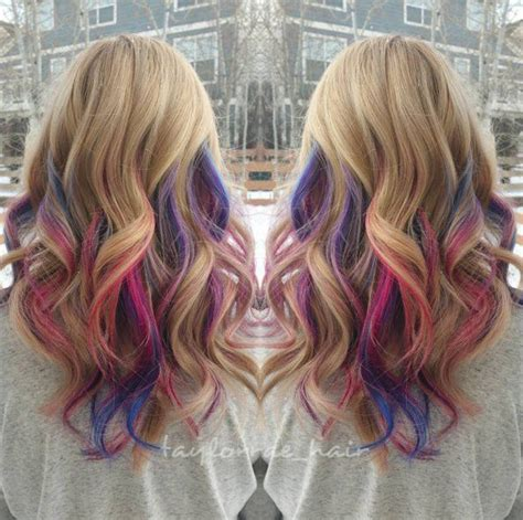 1077 Best Images About Rainbow Of Hair On Pinterest Teal