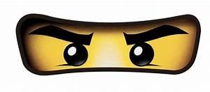 Inspired Ninjago Eyes Sticker PRECUT Party Suppies Lolly