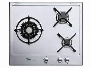 Plaque De Cuisson Gaz Conforama : table de cuisson gaz 3 foyers whirlpool akt615ixl ~ Melissatoandfro.com Idées de Décoration